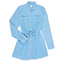 tekstylia Dziewczynka Sukienki krótkie Pepe jeans ZOEY Niebieski