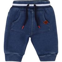tekstylia Chłopiec Spodnie z pięcioma kieszeniami Timberland T94736 Niebieski
