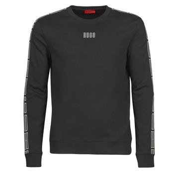 tekstylia Męskie Bluzy HUGO DOBY203 Czarny