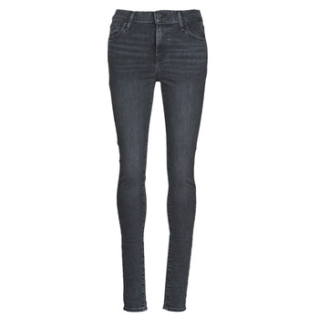 tekstylia Damskie Jeansy skinny Levi's 720 HIGH RISE SUPER SKINNY Smoked / Out