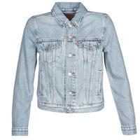 tekstylia Damskie Kurtki jeansowe Levi's ORIGINAL TRUCKER All