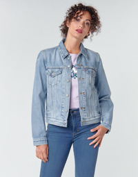 tekstylia Damskie Kurtki jeansowe Levi's ORIGINAL TRUCKER All / Mine