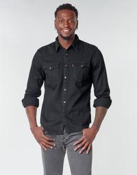 tekstylia Męskie Koszule z długim rękawem Levi's BARSTOW WESTERN STANDARD Czarny
