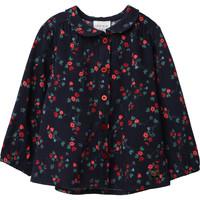 tekstylia Dziewczynka Topy / Bluzki Carrément Beau Y95234 Niebieski