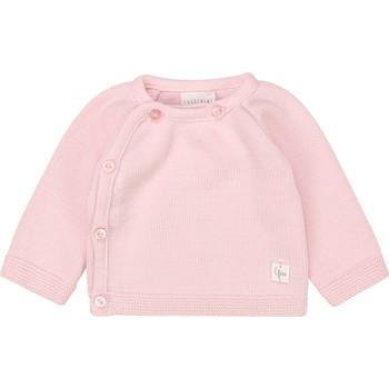 tekstylia Dziewczynka T-shirty z długim rękawem Carrément Beau Y95228 Różowy