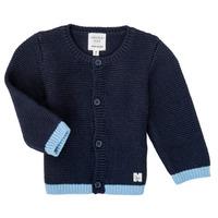 tekstylia Dziewczynka Swetry rozpinane / Kardigany Carrément Beau Y95230 Niebieski