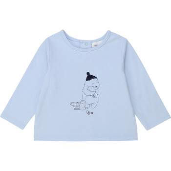 tekstylia Chłopiec T-shirty z długim rękawem Carrément Beau Y95249 Niebieski