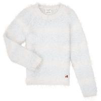 tekstylia Dziewczynka Swetry Carrément Beau Y15348 Niebieski