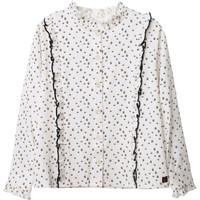 tekstylia Dziewczynka Topy / Bluzki Carrément Beau Y15356 Biały