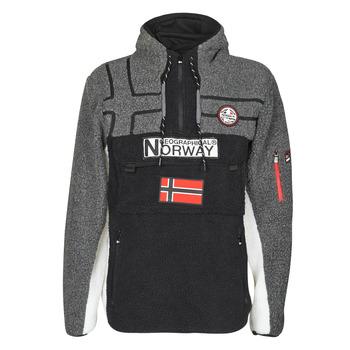 tekstylia Męskie Polary Geographical Norway RIAKOLO Czarny