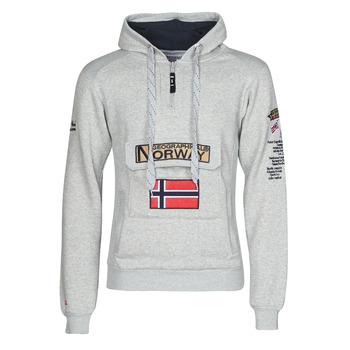 tekstylia Męskie Bluzy Geographical Norway GYMCLASS Szary / Melange
