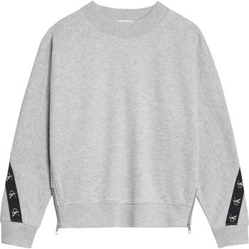 tekstylia Dziewczynka Bluzy Calvin Klein Jeans IG0IG00687-PZ2 Szary