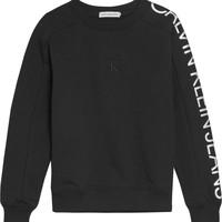 tekstylia Dziewczynka Bluzy Calvin Klein Jeans IG0IG00691-BEH Czarny