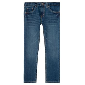 tekstylia Chłopiec Jeansy slim fit Levi's 511 SLIM FIT JEAN Yucatan