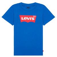 tekstylia Chłopiec T-shirty z krótkim rękawem Levi's BATWING TEE Niebieski