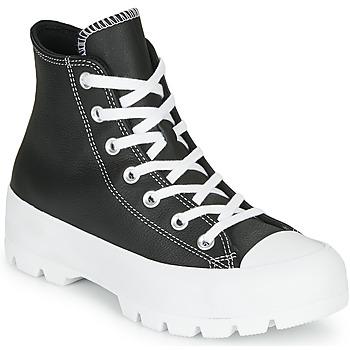 Buty Damskie Trampki wysokie Converse Chuck Taylor All Star Lugged - Foundational Leather Czarny