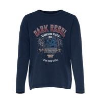 tekstylia Dziewczynka T-shirty z krótkim rękawem Only KONLUCY LIFE Marine