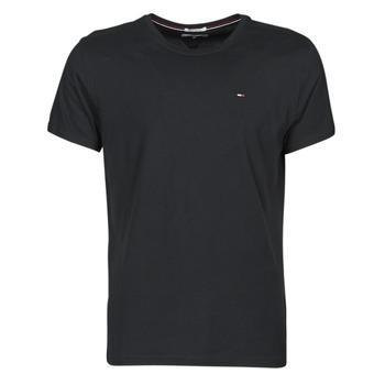 tekstylia Męskie T-shirty z krótkim rękawem Tommy Jeans TJM ORIGINAL JERSEY TEE Czarny