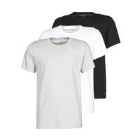 tekstylia Męskie T-shirty z krótkim rękawem Calvin Klein Jeans CREW NECK 3PACK Szary / Czarny / Biały