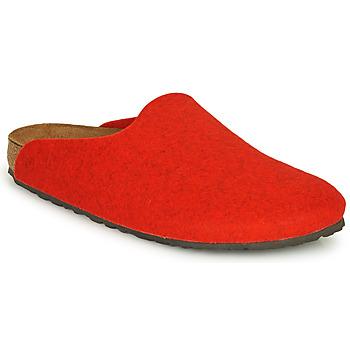 Buty Damskie Chodaki Birkenstock AMSTERDAM Czerwony