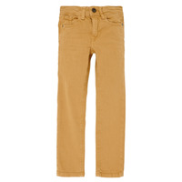 tekstylia Chłopiec Jeansy slim fit Name it NKMTHEO Camel
