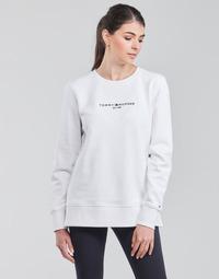 tekstylia Damskie Bluzy Tommy Hilfiger TH ESS HILFIGER C-NK SWEATSHIRT Biały