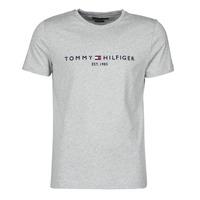 tekstylia Męskie T-shirty z krótkim rękawem Tommy Hilfiger TOMMY LOGO TEE Szary