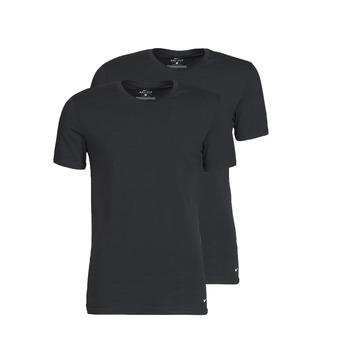 tekstylia Męskie T-shirty z krótkim rękawem Nike EVERYDAY COTTON STRETCH Czarny