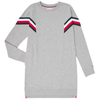 tekstylia Dziewczynka Sukienki krótkie Tommy Hilfiger KG0KG05283-P6U Szary