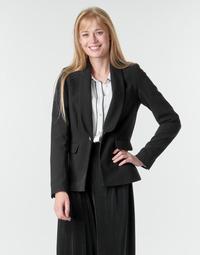 tekstylia Damskie Kurtki / Blezery Morgan VETINI Czarny