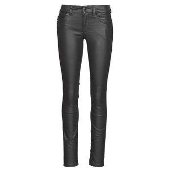 tekstylia Damskie Jeansy slim fit Pepe jeans NEW BROOKE Czarny