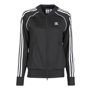 tekstylia Damskie Bluzy dresowe adidas Originals SST TRACKTOP PB Czarny