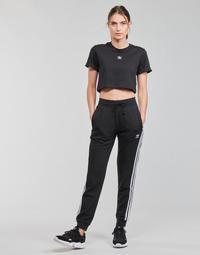 tekstylia Damskie Spodnie dresowe adidas Originals SLIM PANTS Czarny