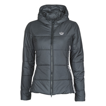 tekstylia Damskie Kurtki pikowane adidas Originals SLIM JACKET Czarny