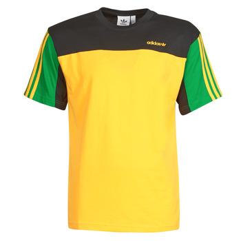 tekstylia Męskie T-shirty z krótkim rękawem adidas Originals CLASSICS SS TEE Dore / Actif