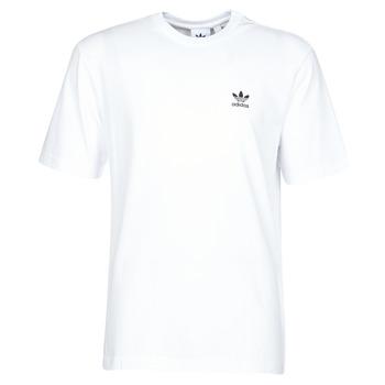 tekstylia Męskie T-shirty z krótkim rękawem adidas Originals B+F TREFOIL TEE Biały