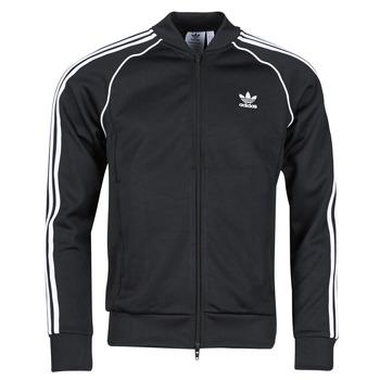 tekstylia Męskie Bluzy dresowe adidas Originals SST TT P BLUE Czarny