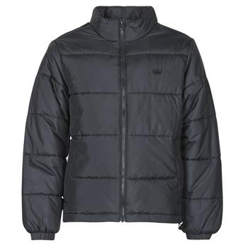 tekstylia Męskie Kurtki pikowane adidas Originals PAD STAND PUFF Czarny