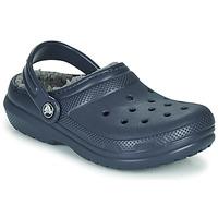 Buty Dziecko Chodaki Crocs CLASSIC LINED CLOG K Blue