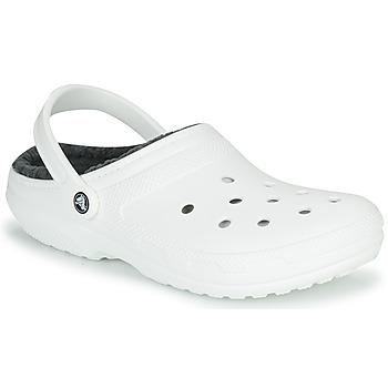 Buty Chodaki Crocs CLASSIC LINED CLOG Biały