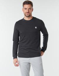 tekstylia Męskie T-shirty z długim rękawem Timberland LS Dunstan River Tee Czarny