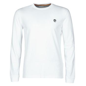 tekstylia Męskie T-shirty z długim rękawem Timberland LS Dunstan River Tee Biały