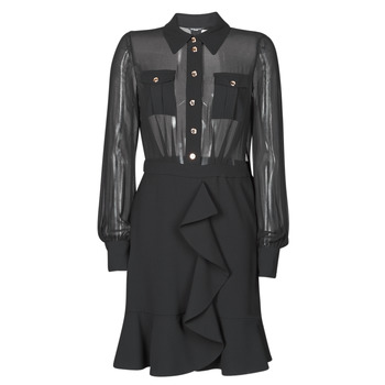 tekstylia Damskie Sukienki krótkie Marciano CAROL SHORT DRESS Czarny