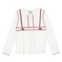 tekstylia Dziewczynka Topy / Bluzki Chipie 8R12014-19 Biały