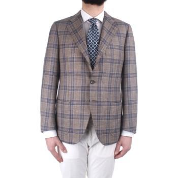 tekstylia Męskie Kurtki / Blezery Cesare Attolini S19MA44 M21 Wielokolorowy