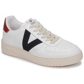 Buty Trampki niskie Victoria SIEMPRE PIEL VEG Biały / Niebieski / Czerwony