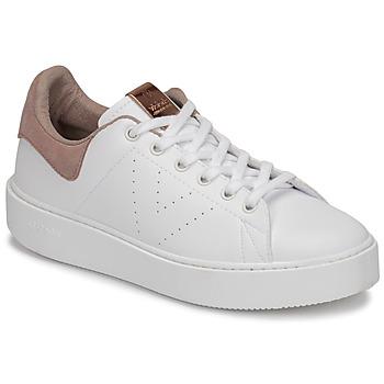 Buty Damskie Trampki niskie Victoria UTOPÍA PIEL VEG Biały / Różowy