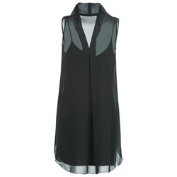 tekstylia Damskie Sukienki krótkie Naf Naf E-LALY Czarny