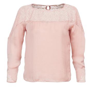 tekstylia Damskie Topy / Bluzki Naf Naf KIKI Różowy