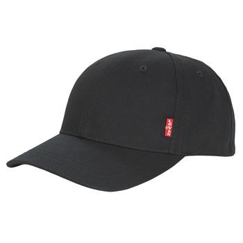 Dodatki Męskie Czapki z daszkiem Levi's CLASSIC TWILL REDL CAP Czarny